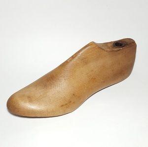 Antique Wood Industrial Shoe Last Farmhouse Decor